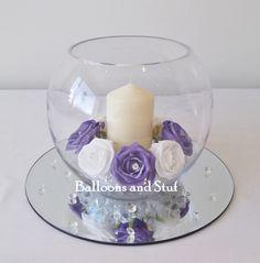 9 Best Fish Bowl Vases Images Wedding Centerpieces Fish Bowl