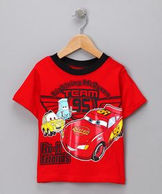 Take a look at this Red 'Fix-It Friends' Tee - Toddler by Blow-Out on #zulily today!