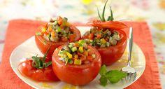 Tomates farcies à la ratatouilleVoir la recette des Tomates farcies à la ratatouille >>