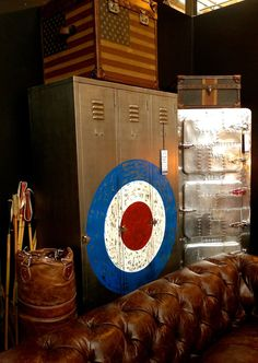 Mod painted vintage lockers - Specials fans rejoice!