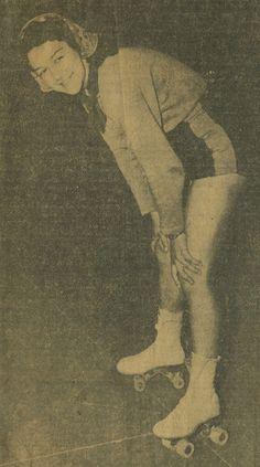 1930s Roller Derby Scrapbook