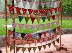 bunting display ideas - Google Search