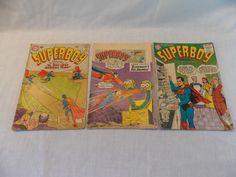 Superboy 41 57 89 Vintage Comic Book Gold / Silver Age LOT of 3