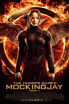 Get excited for the upcoming release of 'Hunger Games: Mockingjay: Part 1' with these newly released move posters…