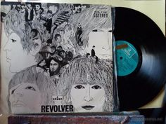 THE BEATLES- REVOLVER-LP LABEL AZUL CLARO -CON ETIQUETA DE PROMOCION - Foto 1