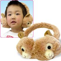 ** Pre Order **    Cutest earmuff ever! This is the repeated item from Amuse. They have decided to have this items for winter. Two cute alpacasso face on each side they will protect you from the cold winter. A must have for this winter.    Pre order ends on:  2nd week of Oct.    Size: 1 size fits all    Colors: White, pink, blue marine, cafe au lait and pink macaroon