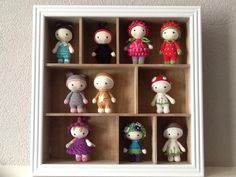 Tiny Lalylala's made by Marja Post