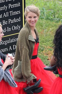 Heather Morris - Behind the Scenes Photos from Nationals