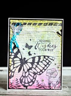 Butterfly Stamps | Creations by Mercedes