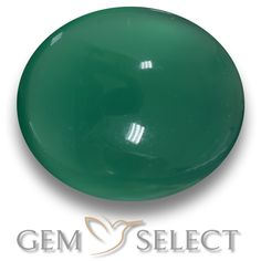 GemSelect features this natural Agate from India. This Green Agate weighs 2.1ct and measures 8.9 x 7.5mm in size. More Oval Cabochon Agate is available on gemselect.com #birthstones #healing #jewelrystone #loosegemstones #buygems #gemstonelover #naturalgemstone #coloredgemstones #gemstones #gem #gems #gemselect #sale #shopping #gemshopping #naturalagate #agate #greenagate #ovalgem #ovalgems #greengem #green