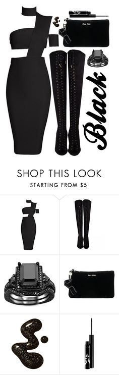"""""""Untitled #1909"""" by sunnydays4everkh ❤ liked on Polyvore featuring Miu Miu"""