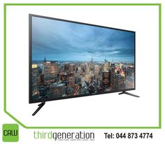 """Offering the Ultra HD resolution for stunning viewing, the #Samsung 55"""" UHD Flat Smart TV delivers high quality entertainment. Available from #ThirdGenerationCAW."""