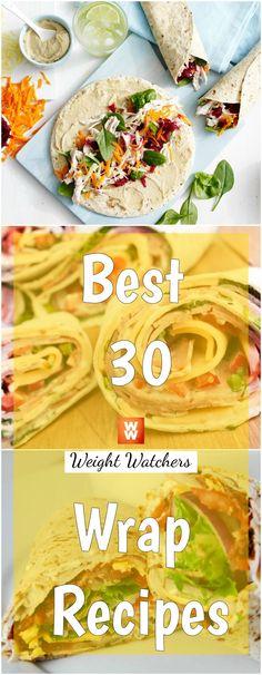 Best 30 Weight Watchers Wrap Recipes | weight watchers recipes