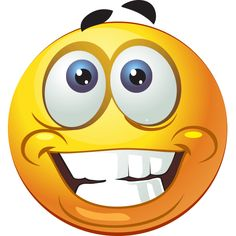 This big-toothed smiley is super glad to visit one of your Facebook pal's timelines.