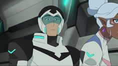 """Shiro's """"Woah, Allura, where did you come from? What the heck are you doing?!?!"""" face - 2x03"""