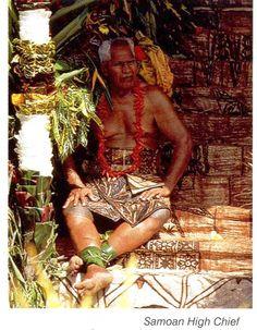 Samoan High Chief