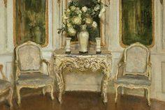 French Interior, (Detail), 1906 ~ Walter Gay
