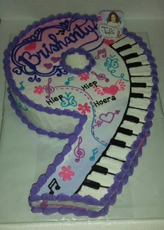 Number 9 Violetta Themed