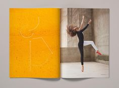 The campaign takes inspiration from dance notations and representations of dance in art.