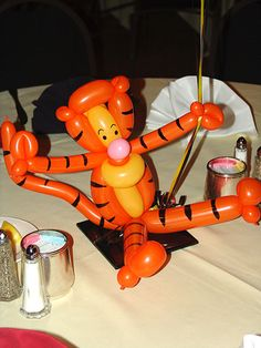 Winnie the Pooh Centerpieces Balloons in Denver