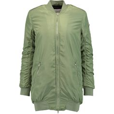W118 by Walter Baker Talia quilted shell bomber jacket ($228) ❤ liked on Polyvore featuring outerwear and jackets