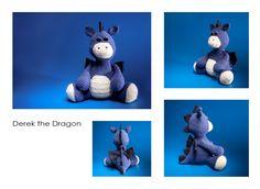 Crochet / Amigurumi Derek the Dragon