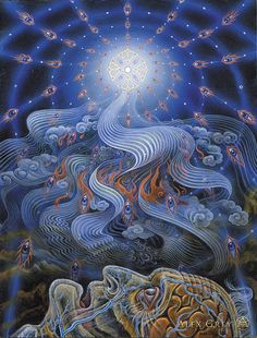 The Soul Finds Its Way Home - Alex Grey