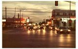 Lee Street at night. :: My Des Plaines Memory