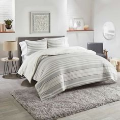 Enhance your bedroom during those warm cozy nights with the Eclipse Bedding Collectoin from UGG. This collectionn adds texture and dimension to your space to make it the bedding oasis of your dreams.