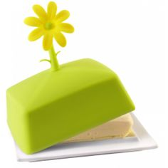 Butter dish with flower - Livio Vialli Design