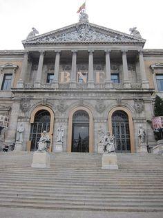 Biblioteca Nacional, Madrid by voces, via Flickr