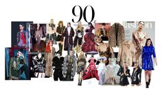 """1990/ 90´s"" by stacey-liz on Polyvore featuring moda, Anna Sui, Marc Jacobs, Alexander McQueen, Christian Lacroix, John Galliano, Theory y Shrimps"