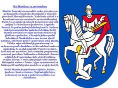 Školský klub detí: Martin na bielom koni a novembrové pranostiky v triedach Maťka a Kubka a Pirátskej