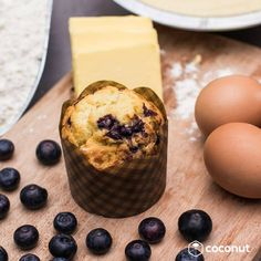 Stay happy this Sunday by munching on @delipatissiere's super yum Bluberry Muffin 💙 P.S. Don't forget to flash your #coconutrewards at #delipatissiere for special benefits 😉