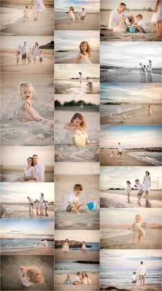 Photos famille à la plage