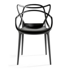 Masters Chair, by Phillipe Stark is a gorgeous tribute to three different chair designs combined together.
