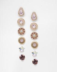 ALDO | ALDO Cornia Multipack Earrings at ASOS