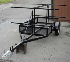 Blue Mountain Outfitters: Canoe and Kayak Trailers - 4 Hauler.. I'm building one now!