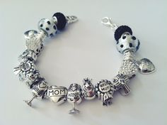 Mother S Day Charm Bracelet Made Of 925 Sterling Silver