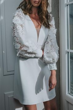It's all about details! Rembo Styling 2022 Rembo Styling, Boho Chic Wedding Dress, Natural Soul, Right To Privacy, Long Balloons, Wedding Dresses 2018, Short Dresses, Formal Dresses, Crepe Dress