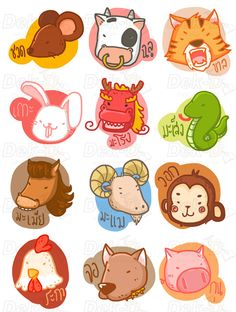 Chinese zodiac  by tArnmarin