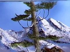 Bob Ross The Joy of Painting Season 7 Episode 10 Mountain Glory Oil Painting Lessons, Oil Painting Techniques, Bob Ross Quotes, Kevin Hill, Mountains Watercolor, Bob Ross Art, Bob Ross Paintings, The Joy Of Painting, Watercolor Landscape Paintings