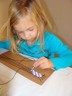 Native American Craft: Wampum Weaving! Even little kids can do this one... so cute and simple! http://magnificentme3.blogspot.com/2012/11/native-americans-part-1.html and also http://plbrown.blogspot.com/2011/01/wampum-weaving-how-to-do-it.html