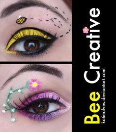 Maybe I'll have to do these on my eyes for my gigs... too cute!