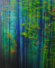 "oil painting by Elisa de la Torre. www.elisadelatorre.com ""Liquid Life"""