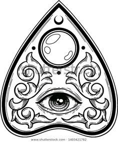 Tattoo Sketches, Tattoo Drawings, Art Sketches, Art Drawings, Dark Art Tattoo, Tattoo Flash Art, Ouija Tattoo, Pagan Witchcraft, Wicca