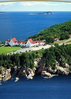 the Keltic Lodge Resort and Spa in Ingonish, Cape Breton