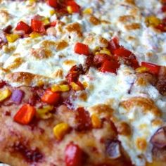Chopped Vegetable Pizza