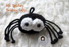 Mr. Spidey Skinny Legs (free crochet pattern) by Little Mee Creations