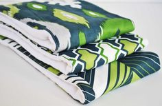 Bue and Green Set of 3 VERY ABSORBENT by YATOIL on Etsy